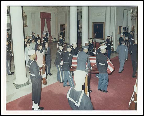808: 1963 KENNEDY'S FINAL GOODBYE