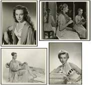 1940s-80s  DEBORAH KERR PHOTOS W/ BULL, APGER