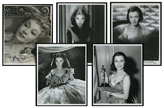 1364: 1930s-70s  VIVIEN LEIGH PHOTO HOARD