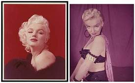 1384: 1950s-60s MARILYN MONROE COLOR PHOTOS