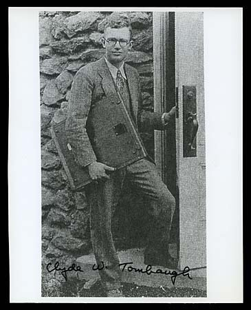 8: c.1991 CLYDE TOMBAUGH AUTOGRAPHED GROUPING