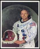 227: 1969  NEIL ARMSTRONG AUTOGRAPHED LITHO
