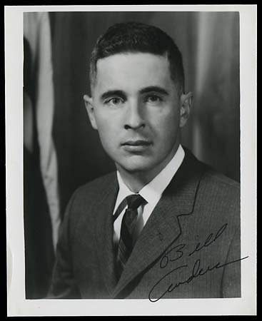629: 1968 BILL ANDERS AUTOGRAPHED PHOTO
