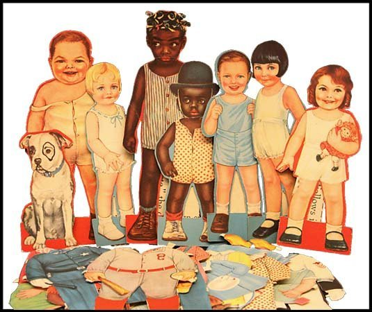 861: 1930s  LITTLE RASCALS 'OUR GANG'  PAPER DOLLS