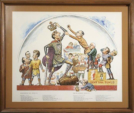 1105: BOBBY FISCHER WORLD CHESS CHAMPIONSHIP POSTER