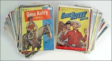 19: GENE AUTRY COMIC BOOK COLLECTION (x63)