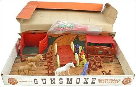 22: GUNSMOKE BOXED PLAY SET