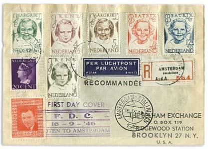323: ROCKET MAIL COVER COLLECTION