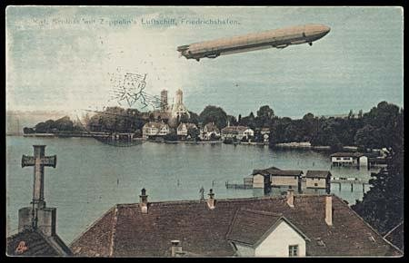 327: DIRIGIBLE PICTURE POST CARDS