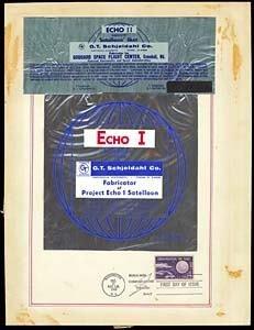 336: ECHO I & II/SATELLOON SKIN AND BROCHURE