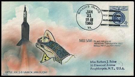 340: MERCURY PROGRAM/'MISS SAM' BIG JOE 1B COVER