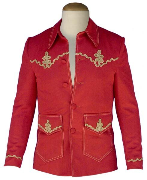 2: 1969 ELVIS' PERSONAL RUST COLORED JACKET