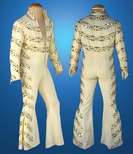 11: 1974 NAIL MIRROR SUIT WORN AT THE ASTRODOME