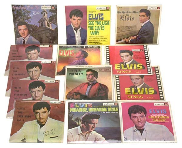 358: 1960s-80s ELVIS RECORDS FROM NEW ZEALAND