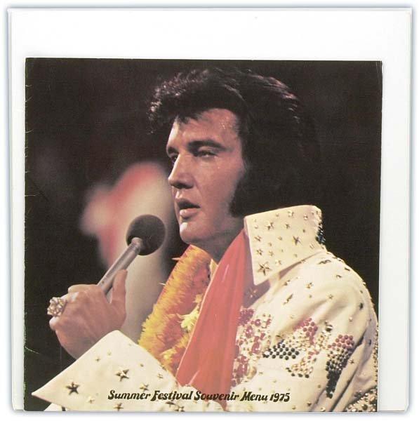 797: 1975 LAS VEGAS HILTON ELVIS SOUVENIR PACKAGE