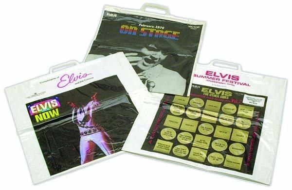 802: 1970s EARLY LAS VEGAS PROMO PLASTIC BAGS
