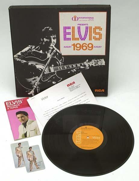 803: 1969 LAS VEGAS INTERNATIONAL HOTEL GIFT BOX