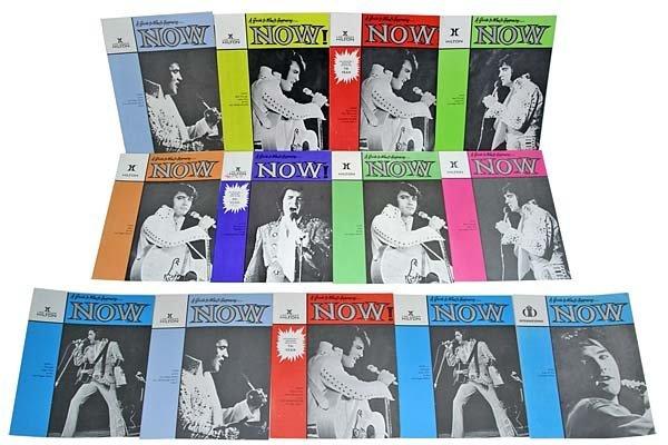 808: 1970s 'NOW' PROMOTIONAL PUBLICATIONS