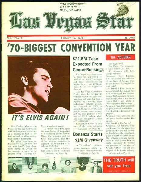 810: 1970 LAS VEGAS STAR