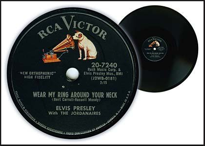 16: 1958/RARE EARLY RECORDS/'WEAR MY RING AROUND..'