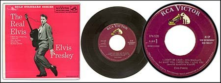 20: 1959/RARE EARLY RECORDS/'THE REAL ELVIS' MAROON