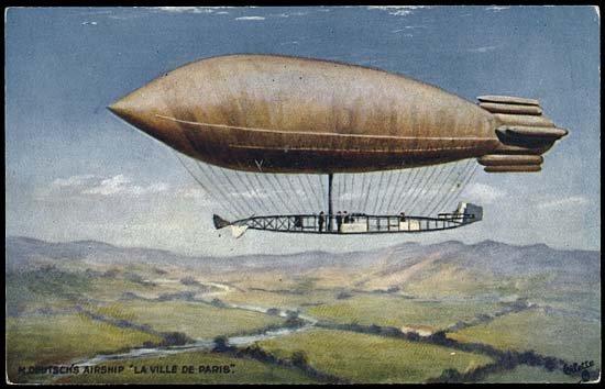 580: 1900-12 BALLOON & DIRIGIBLE CARDS