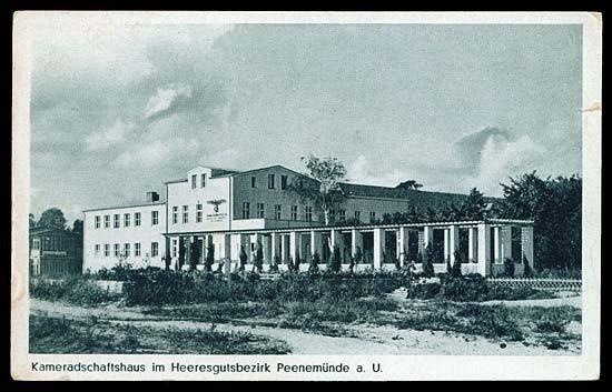 597: 1942 GERMANY PEENEMUNDE PICTURE POSTCARDS