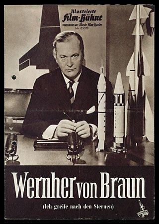 602: c.1953 GERMANY COLUMBIA PICS 'WERNER VON BRAUN'