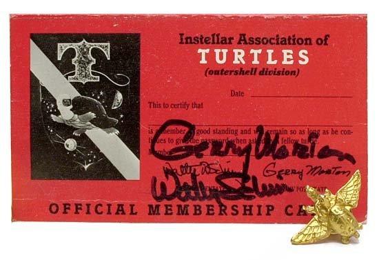 643: c.1960 MERCURY PROG. DEKE SLAYTON 'TURTLE CLUB'