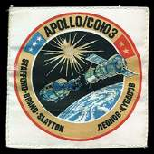 928 1975 FLOWN ASTP MISSION PATCH