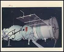 961 1975 APOLLO SOYUZ LEONOV  KUBASOV SIGNED PICS