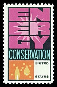 1736: USA #1547c CONSERVATION, GREEN OMITTED