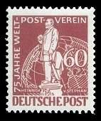 2115: 1949 BERLIN #9N35-41 UPU 12pf-2m