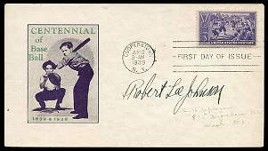 2815: 1939 #855 ROBERT L JOHNSON AUTO FIRST DAY COVER