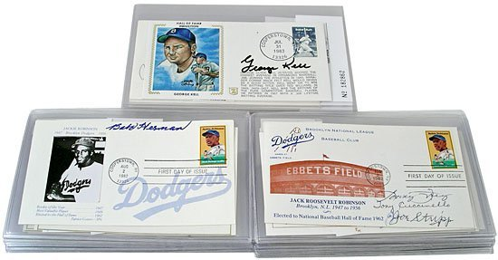 2835: 1969-93 AUTOGRAPHED COVER COLLECTION (x45)