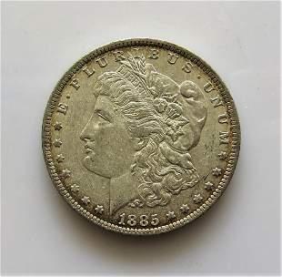 1885O Morgan Dollar Choice Original MS63
