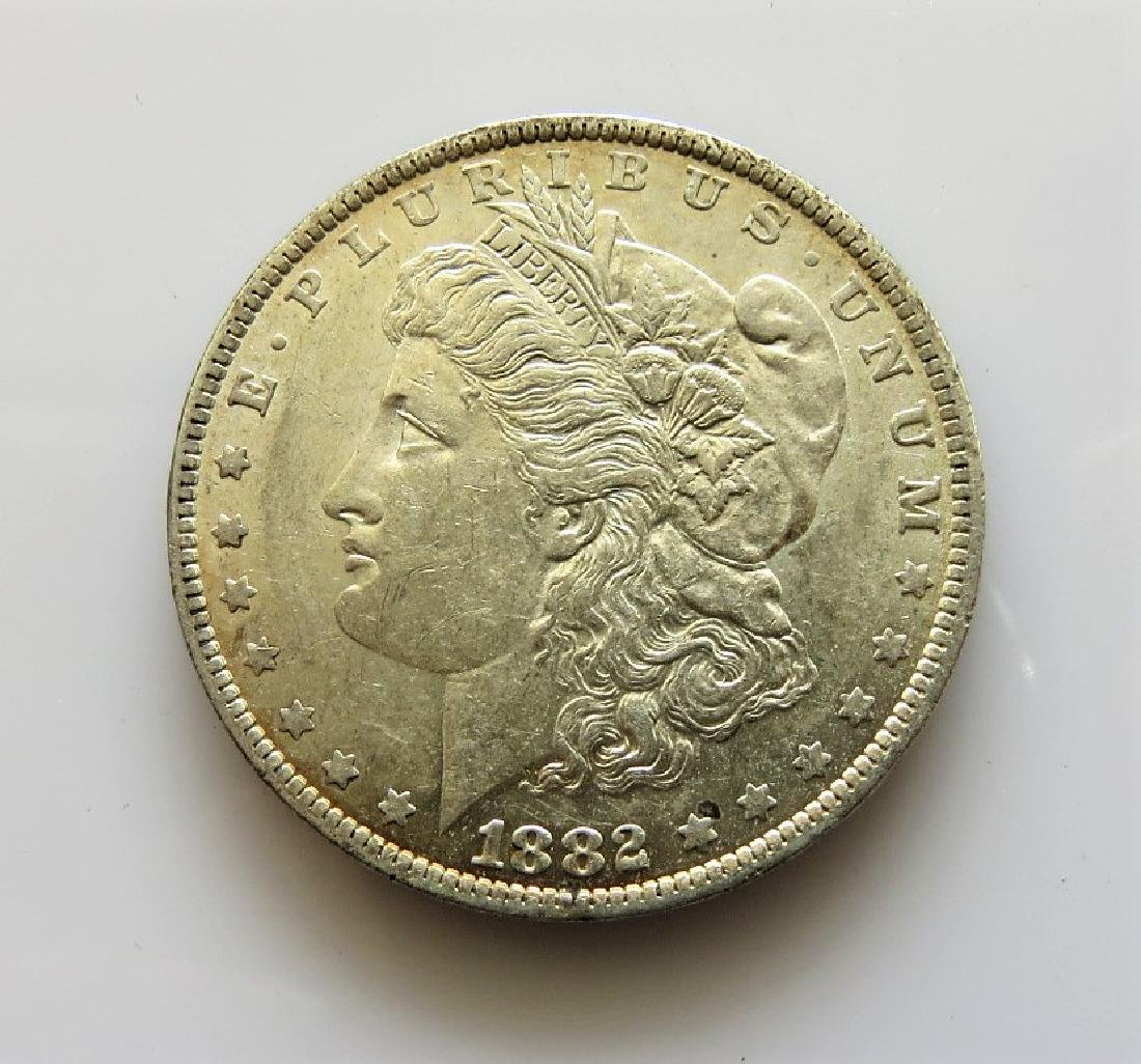 1882 O Choice Uncirculated Morgan Silver Dollar