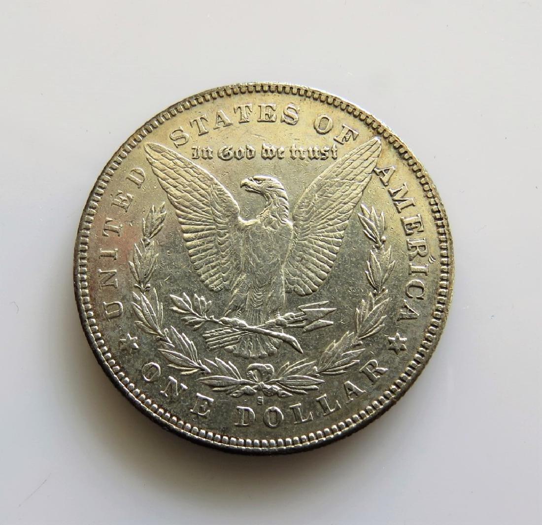 1878 S Morgan Silver Dollar Choice AU - 2