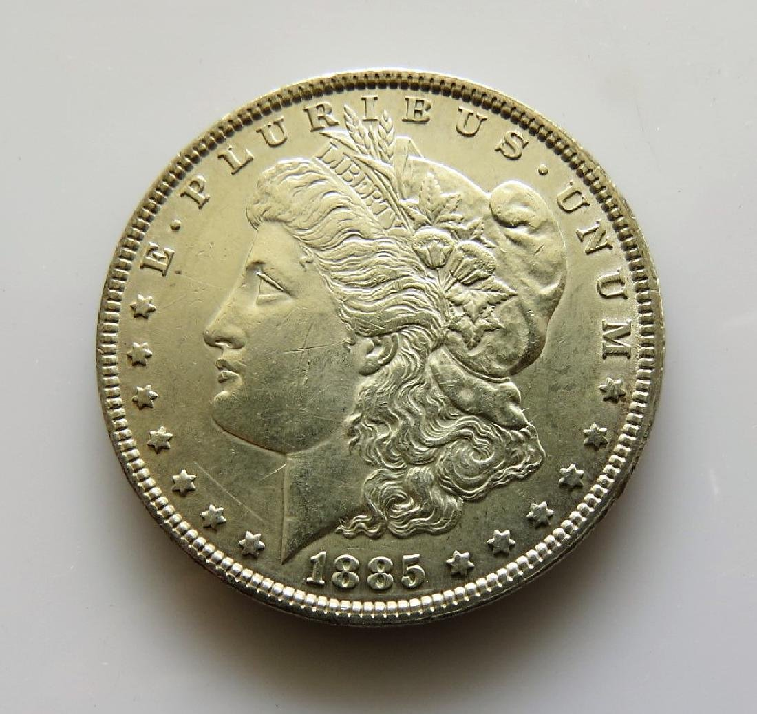 1885-P Morgan Dollar Vam-1F