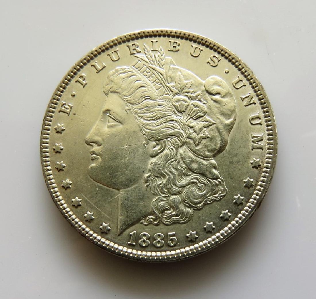 1885-P Morgan Dollar Vam-1F