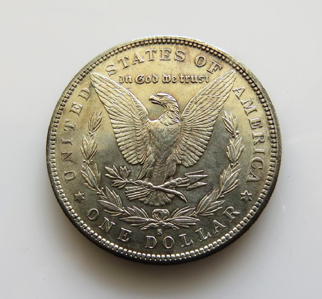 1881 S Morgan Silver Dollar Choice Almost Unc. - 2