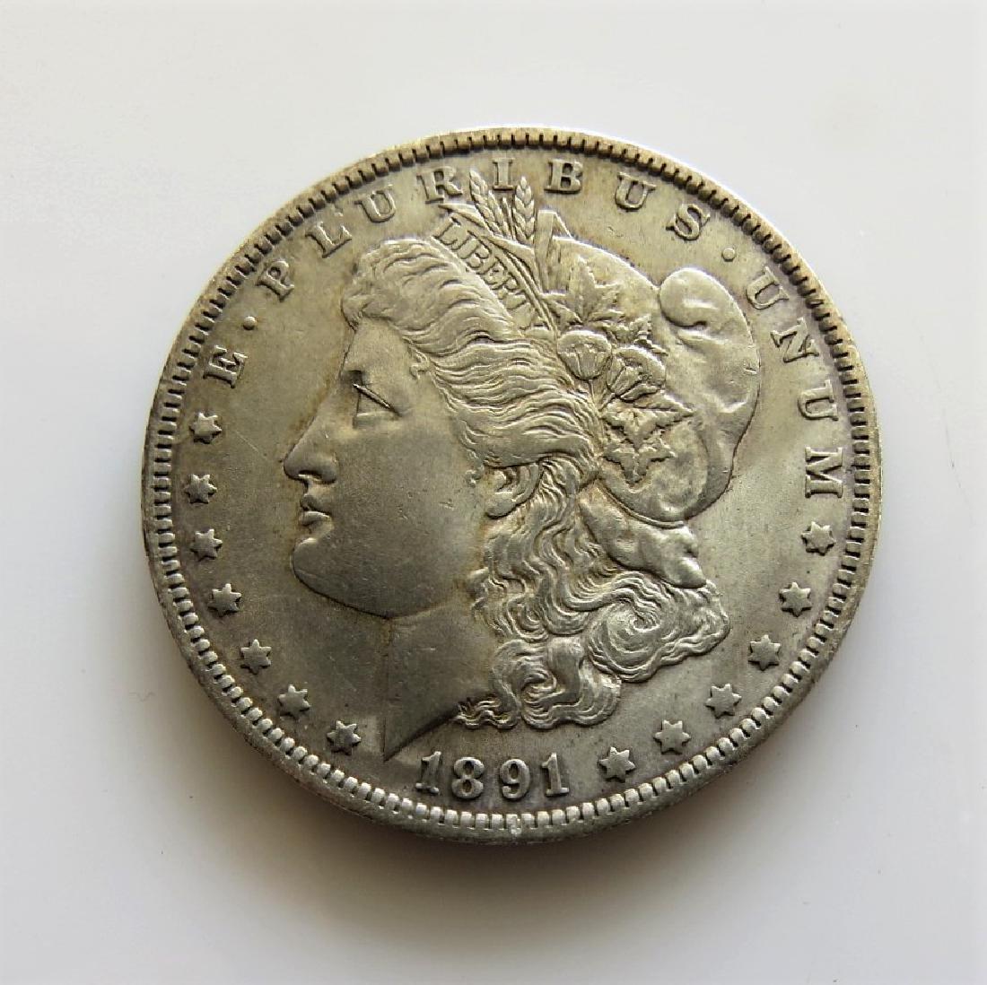 1891 O Morgan Dollar Choice Unc.