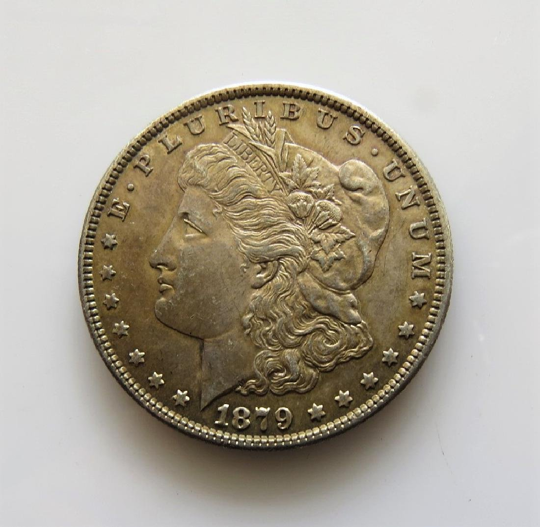 1879 S Gem Uncirculated Morgan Silver Dollar