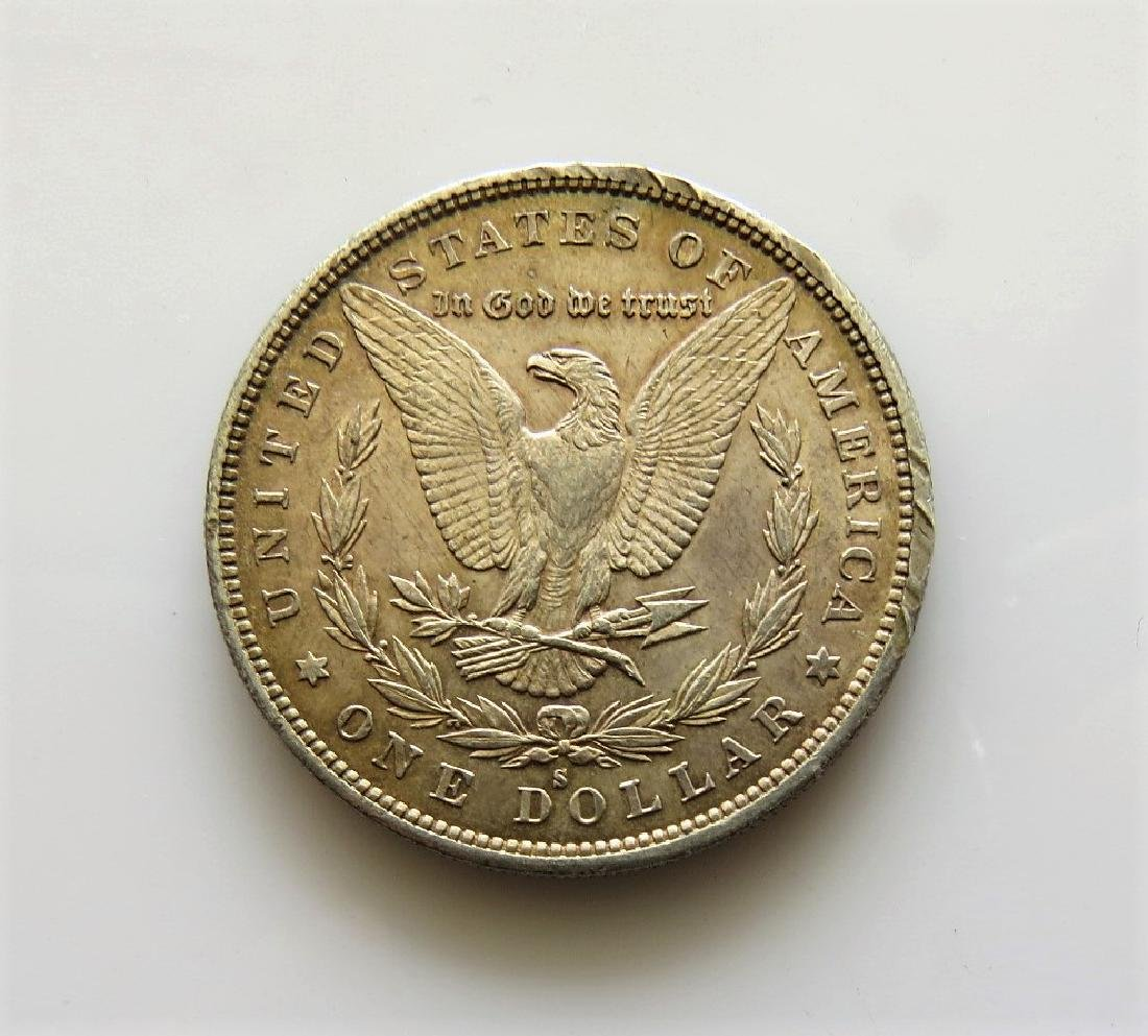 1879 S Gem Uncirculated Morgan Silver Dollar - 2