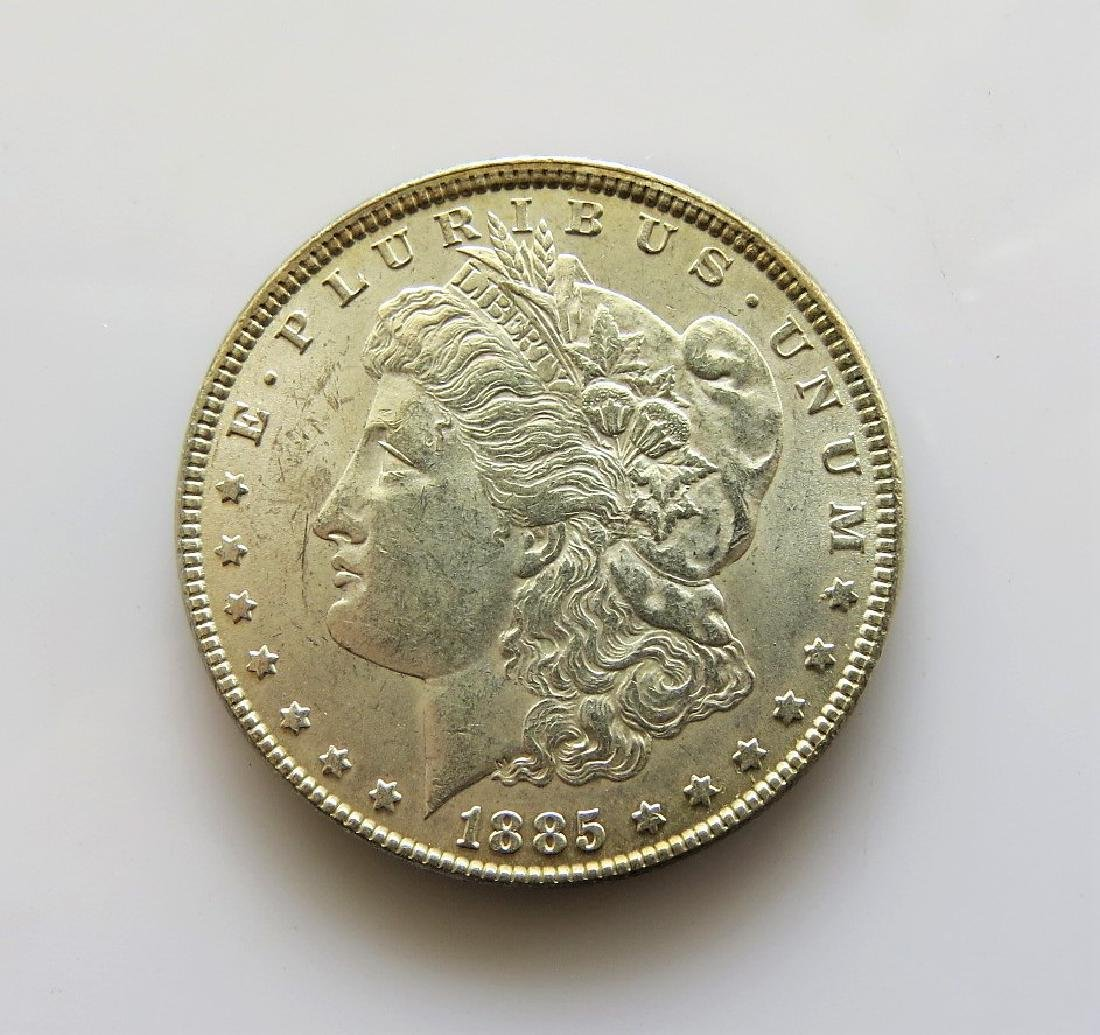 1885 Morgan Silver Dollar Choice Uncirculated