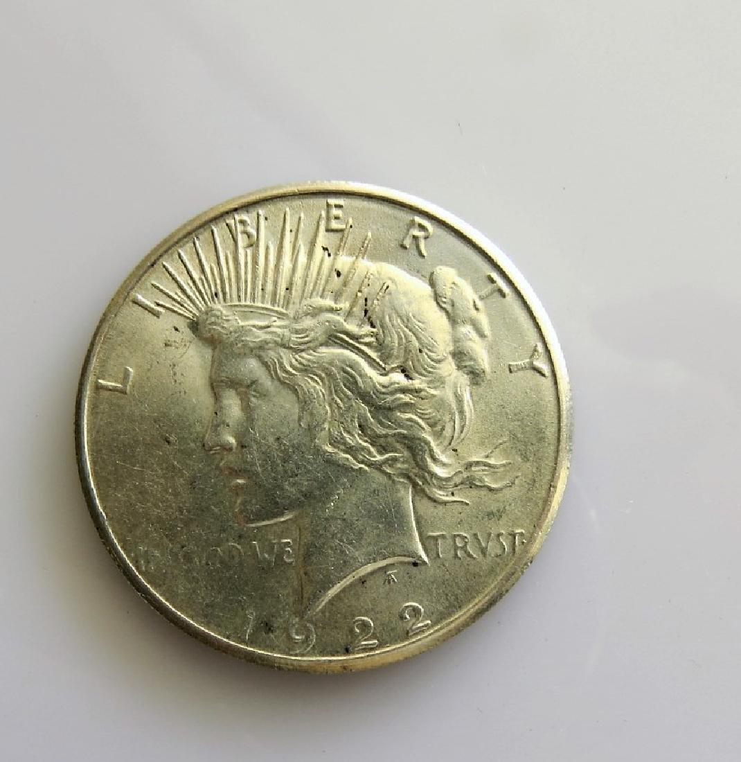 1922 S Peace Dollar Choice Uncirculated