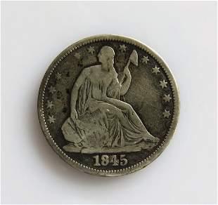 1845 O Seated HalfDollar Better Date
