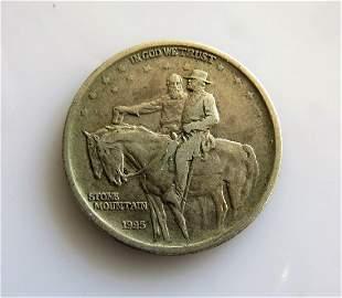 1925 Stone Mountain Commemorative HalfDollar XF