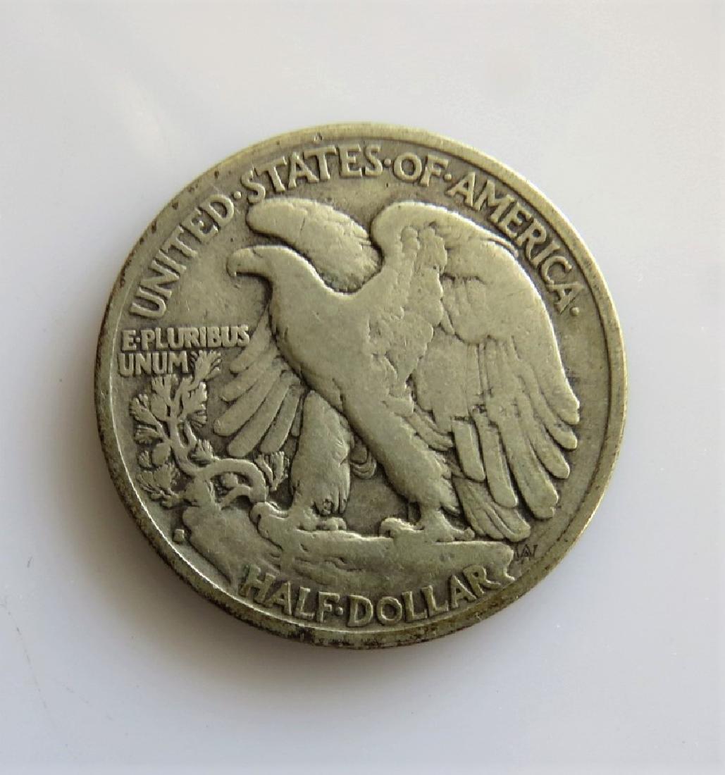 1933 S Walking Liberty Half-Dollar Fine - 2