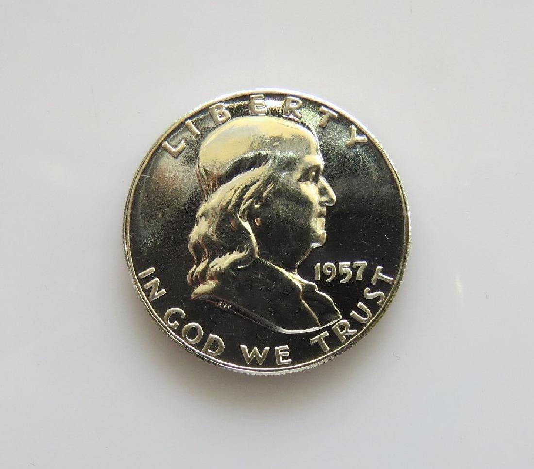 1957 Franklin Half-Dollar Gem Proof